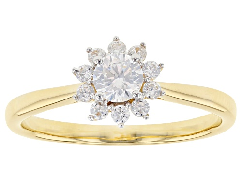 Photo of Bella Luce ® 0.84ctw 10k Yellow Gold Ring (0.40ctw DEW) - Size 8
