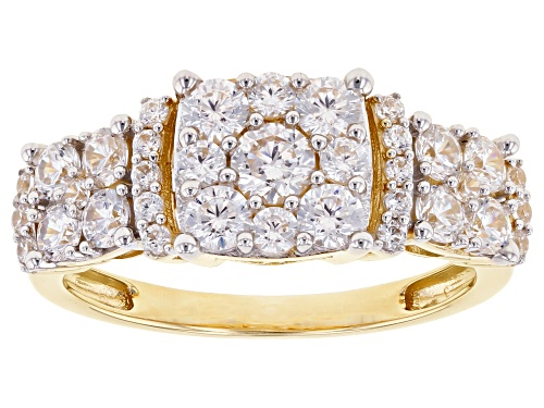 Photo of Bella Luce ® 3.00ctw 10k Yellow Gold Ring (1.27ctw DEW) - Size 11