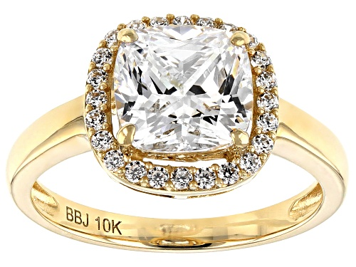 Photo of Bella Luce ® 10k Yellow Gold Ring - Size 8