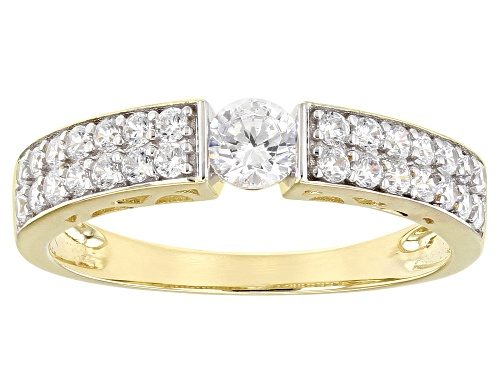 Photo of Bella Luce ® 1.26ctw 10k Yellow Gold Ring (0.67ctw DEW) - Size 8
