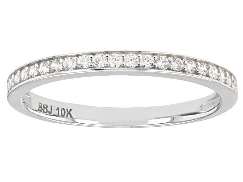 Bella Luce ® 0.23ctw 10k White Gold Ring - Size 8