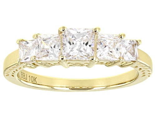 Photo of Bella Luce ® 2.35ctw 10k Yellow Gold Ring (1.85ctw DEW) - Size 8