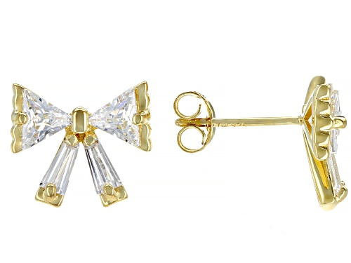Photo of Bella Luce ® 3.51ctw Eterno ™ Yellow Bow Earrings (1.73ctw DEW)