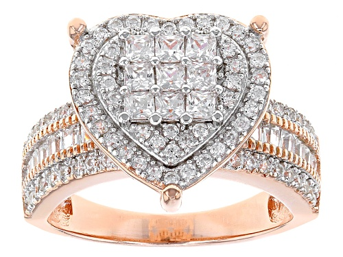 Photo of Bella Luce ® 2.36ctw Eterno ™ Rose Ring (1.41ctw Dew) - Size 11