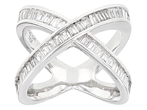 Photo of Bella Luce ® 3.13ctw Rhodium Over Sterling Silver Ring (1.91ctw Dew) - Size 5