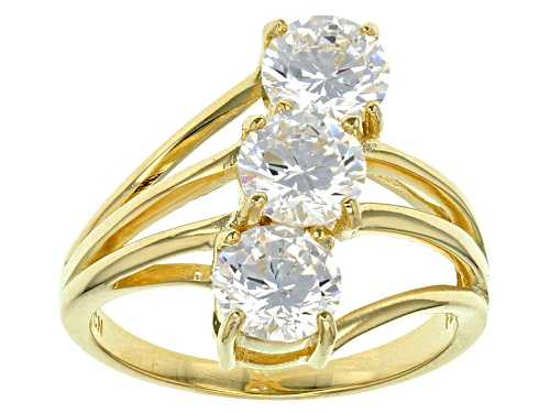 Photo of Bella Luce ® 4.08ctw Eterno ™ Yellow Ring (2.52ctw Dew) - Size 8