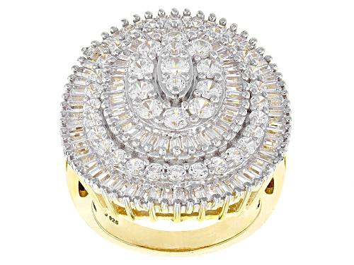 Photo of Bella Luce ® 7.33ctw White Diamond Simulant Eterno ™ Yellow Ring (3.85ctw Dew) - Size 7