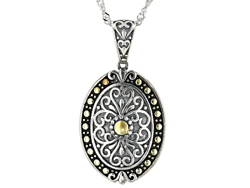 Photo of Bella Luce  Rhodium Over Sterling Silver Pendant With Chain