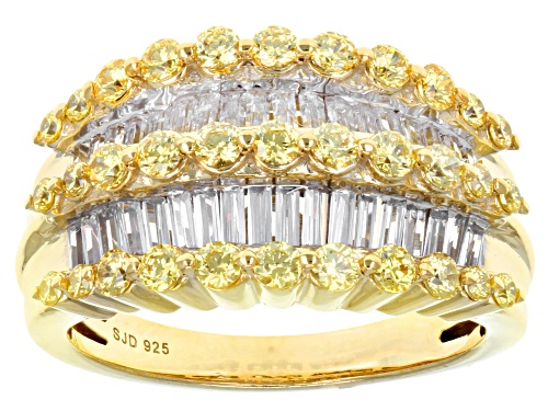 Photo of Bella Luce ® 2.92ctw Eterno ™ Yellow Ring With Fancy Yellow Swarovski ® Zirconia - Size 7