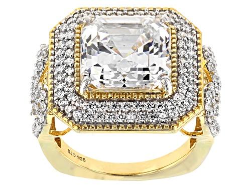 Photo of Bella Luce ® 13.52CTW White Diamond Simulant Eterno ™ Yellow Ring - Size 5
