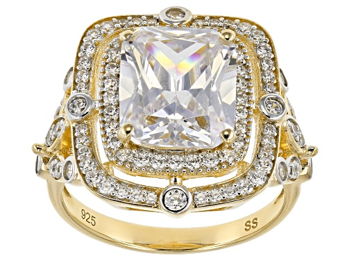 Photo of Bella Luce ® 8.05CTW White Diamond Simulant Eterno ™ Yellow Ring - Size 7