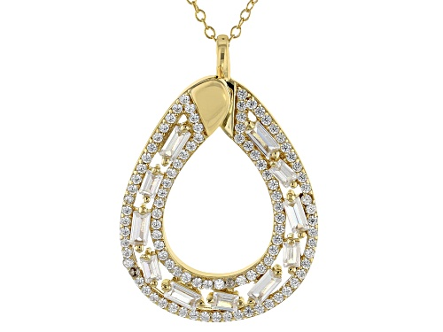Photo of Bella Luce ® 2.99CTW White Diamond Simulant Eterno ™ Yellow Pendant With Chain