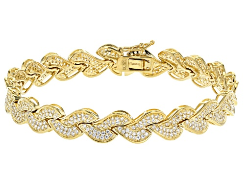 Photo of Bella Luce ® 5.20CTW White Diamond Simulant Eterno ™ Yellow Bracelet - Size 8