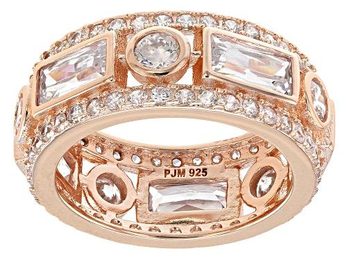 Photo of Bella Luce ® 7.53CTW White Diamond Simulant Eterno ™ Rose Ring - Size 8