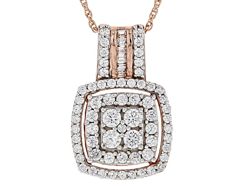Photo of Bella Luce ® 1.77CTW White Diamond Simulant Eterno ™ Rose Pendant With Chain (0.88CTW DEW)