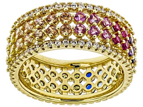 Photo of Bella Luce ® 3.84CTW Multicolor Gemstone Simulants Eterno ™ Yellow Ring - Size 11