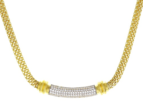 Photo of Bella Luce ® 1.38CTW White Diamond Simulant Eterno ™ Yellow Necklace (0.69CTW DEW) - Size 18