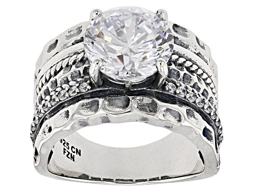 Photo of Bella Luce ® 6.47CTW Rhodium Over Silver Ring (4.05CTW DEW) - Size 8