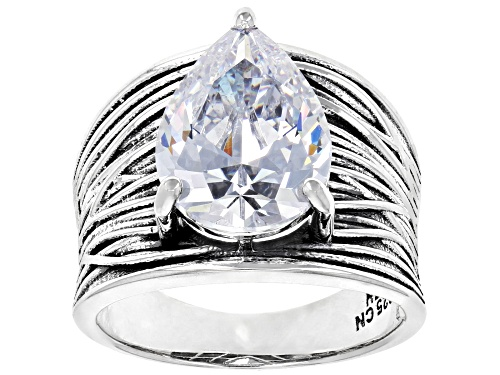 Photo of Bella Luce® 8.74CTW Rhodium Over Sterling Silver Ring (5.41CTW DEW) - Size 8