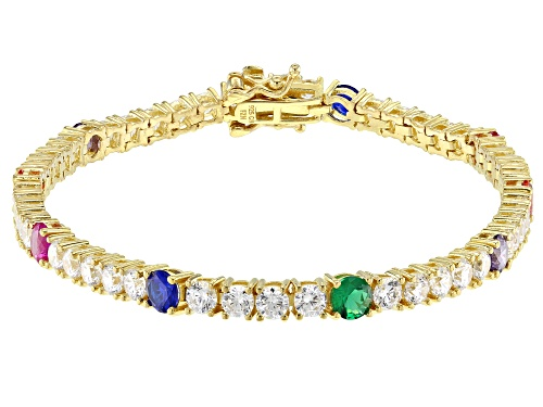 Photo of Bella Luce ® 11.55CTW Multicolor Gemstone Simulants Eterno ™ Yellow Bracelet - Size 8