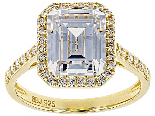 Photo of Bella Luce ® 6.63ctw White Diamond Simulant Eterno™ Yellow Ring (4.21ctw DEW) - Size 8