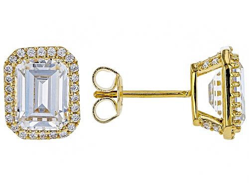 Photo of Bella Luce ® 5.79ctw White Diamond Simulant Eterno™ Yellow Earrings (3.82ctw DEW)