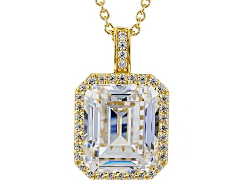 Photo of Bella Luce® 10.24ctw White Diamond Simulant Eterno™ Yellow Pendant With Chain (6.22ctw DEW)