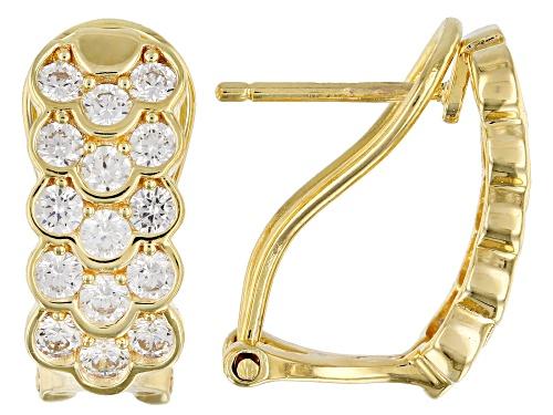 Photo of Bella Luce ® 2.40ctw Eterno™ Yellow Earrings (1.2ctw DEW)