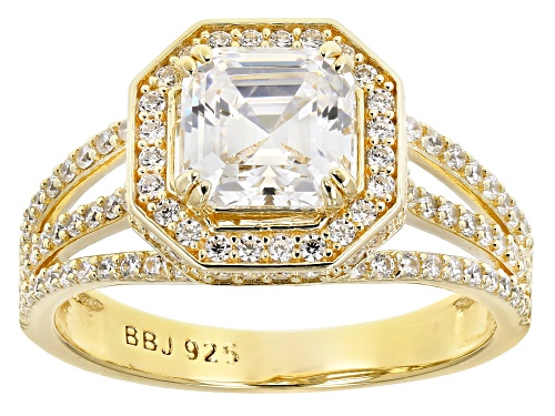 Photo of Bella Luce (R) 4.15ctw Eterno (TM) Yellow Ring (2.57ctw DEW) - Size 8