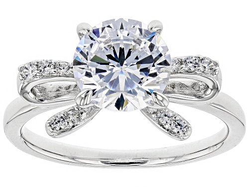 Photo of Bella Luce ® 3.64ctw Rhodium Over Sterling Silver Ring (2.18ctw DEW) - Size 10