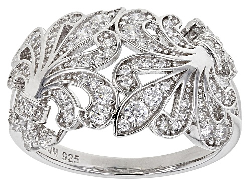 Photo of Bella Luce ® 1.10ctw Rhodium Over Sterling Silver Ring (0.52ctw DEW) - Size 7