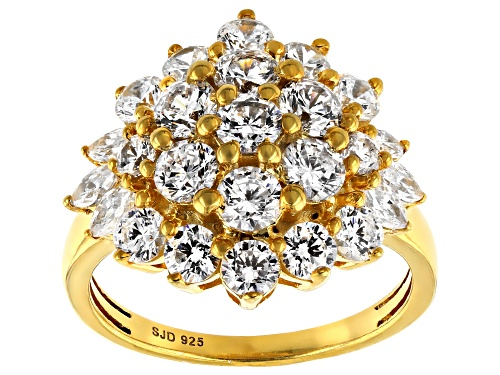 Photo of Bella Luce ® 5.05ctw Eterno ™ Yellow Ring (3.01ctw DEW) - Size 7
