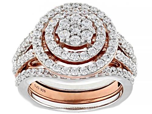 Photo of Bella Luce ® 3.47ctw Eterno ™ Rose Ring With Guard (1.80ctw DEW) - Size 8