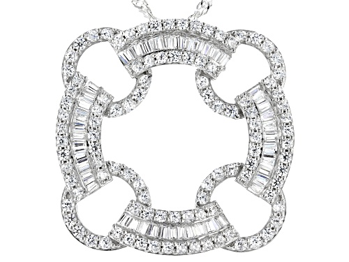 Photo of Bella Luce ® 2.70ctw Rhodium Over Sterling Pendant With Chain (1.69ctw DEW)
