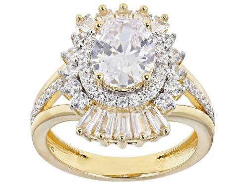 Photo of Bella Luce ® 5.90ctw Eterno ™ Yellow Ring (3.18ctw DEW) - Size 8