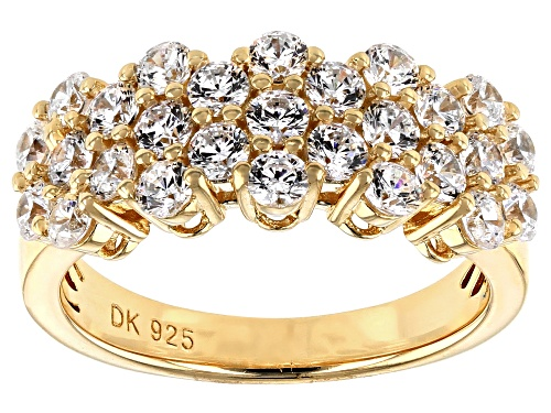 Photo of Bella Luce ® 3.24ctw Eterno ™ Yellow Ring (1.62ctw DEW) - Size 10