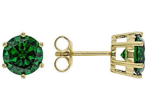 Photo of Bella Luce ® 6.65ctw Emerald Simulant Eterno ™ Yellow Earrings (4.08ctw DEW)