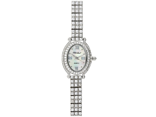 Photo of Bella Luce® Ladies Round Mop Sterling Silver Watch