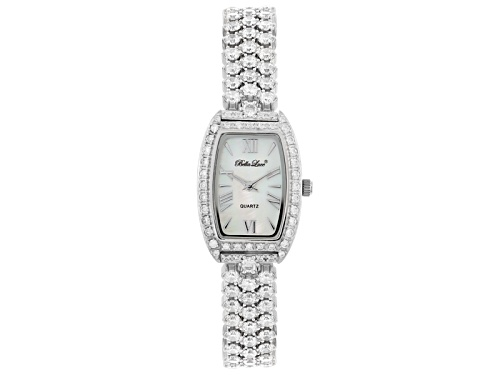 Photo of Bella Luce ® Ladies Round Mother Of Pearl Dial Sterling Silver Watch