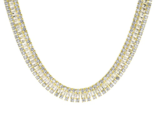 Photo of Bella Luce ® 208.50ctw Radiant Cut And Round Eterno ™ Yellow Necklace (115.4ctw Dew) - Size 18