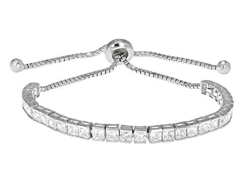 Photo of Bella Luce ® 9.30ctw Square Rhodium Over Sterling Silver Adjustable Bracelet