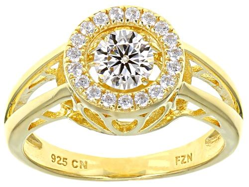 "Photo of Bella Luce ® 1.04ctw Eterno ® Yellow ""Dancing Bella"" Ring (.65ctw Dew) - Size 8"