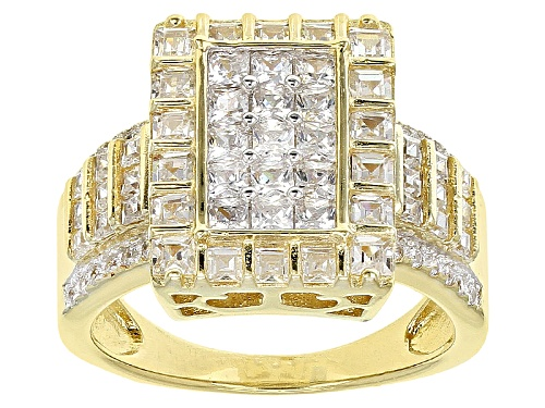 Photo of Bella Luce ® 3.57ctw Eterno ™ Yellow Ring (2.19ctw Dew) - Size 12
