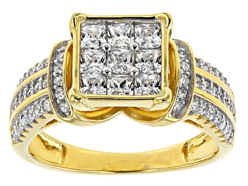 Photo of Bella Luce ® 2.10ctw Eterno ™ Yellow Ring (1.26ctw Dew) - Size 10