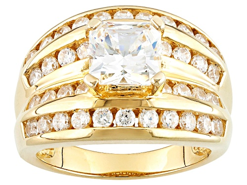 Photo of Bella Luce ® 2.90ctw Diamond Simulant Eterno ™ Yellow Ring (2.18ctw Dew) - Size 5