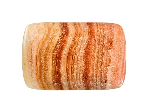 Photo of Uruguay Saturn Chalcedony Avg 11.00ct 20x13mm Rectangular Cushion Cabochon Colors Will Vary