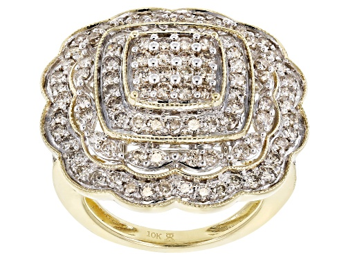 Photo of 1.75ctw Round Candlelight Diamonds™ 10K Yellow Gold Ring - Size 8