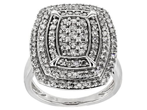 Photo of 1.50ctw Round White Diamond 10k White Gold Ring - Size 7.5
