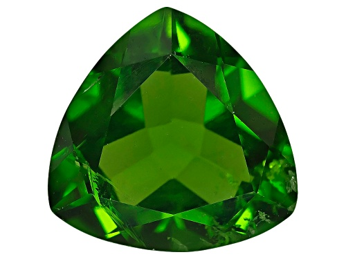 Photo of Russian chrome diopside min 1.00ct 7mm trillion
