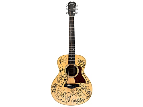 Photo of Back The Beat: 2018 CMA Fest Autographed Taylor Guitar